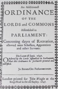 Публикация Ордонанса 10 июня 1647 г.